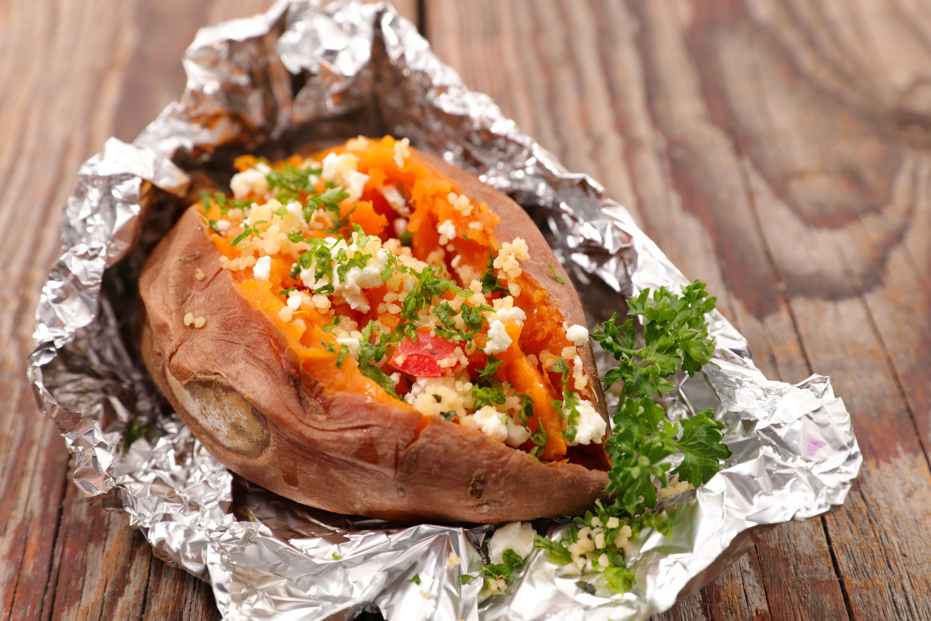 Loaded Sweet Potato!
